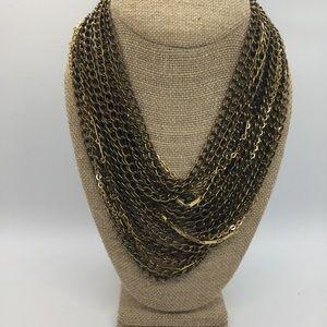 Jenny Bird Rawley Collar Multi-Chain Necklace